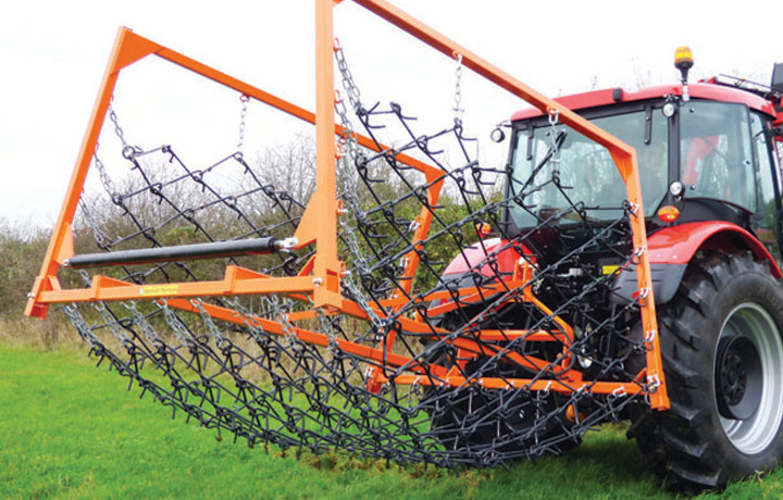 Mounted chain harrows for sale UK delivery